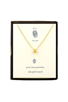 b.u. Jewelry Protection Necklace - Alternate List Image