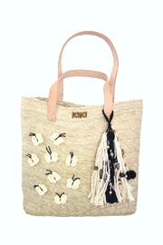 Kiki B&W Butterfly Tote - Front cropped