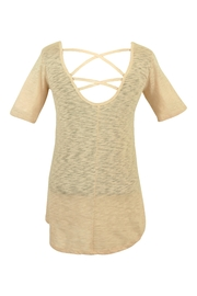 B.wear Lace Back Tunic - Product Mini Image