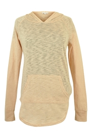 B.wear Sheer Slub Hoody Top - Product Mini Image