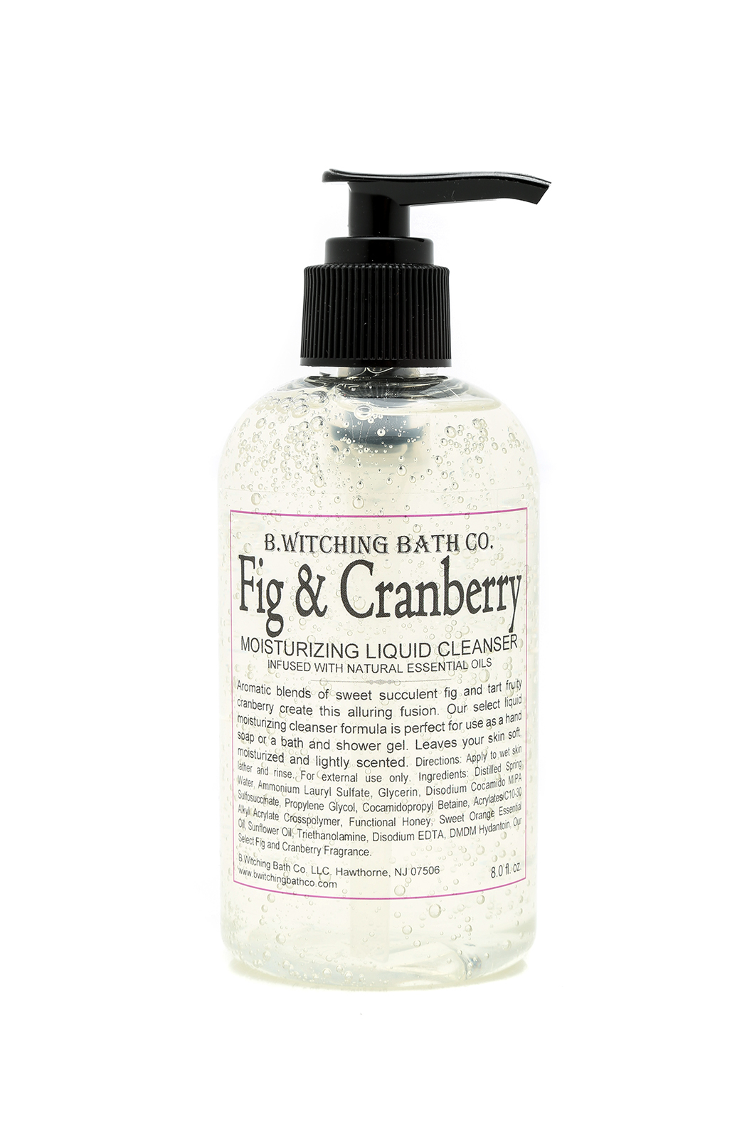 B. Witching Bath Fig Cranberry Liquid Cleanser from Omaha ...