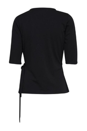 B.young Black Toga Top - Front full body