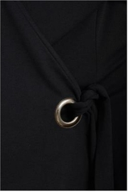 B.young Black Toga Top - Side cropped