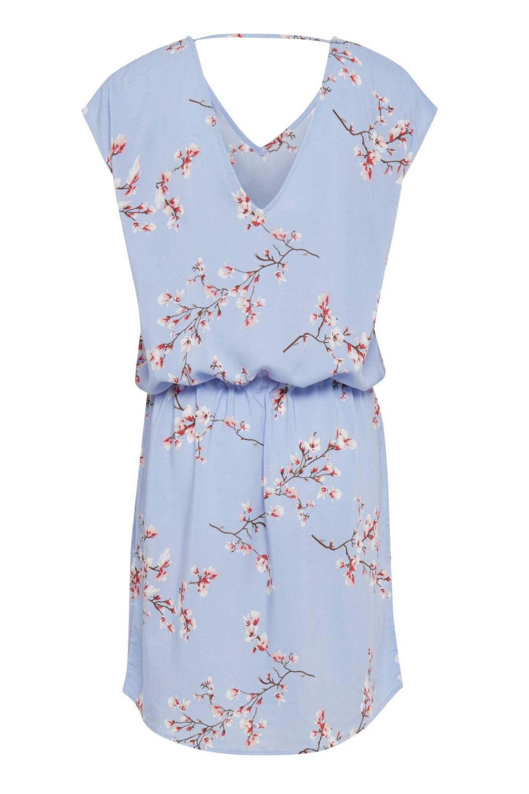 B.young Bluebell Floral Dress - Front Full Image