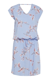 B.young Bluebell Floral Dress - Front cropped