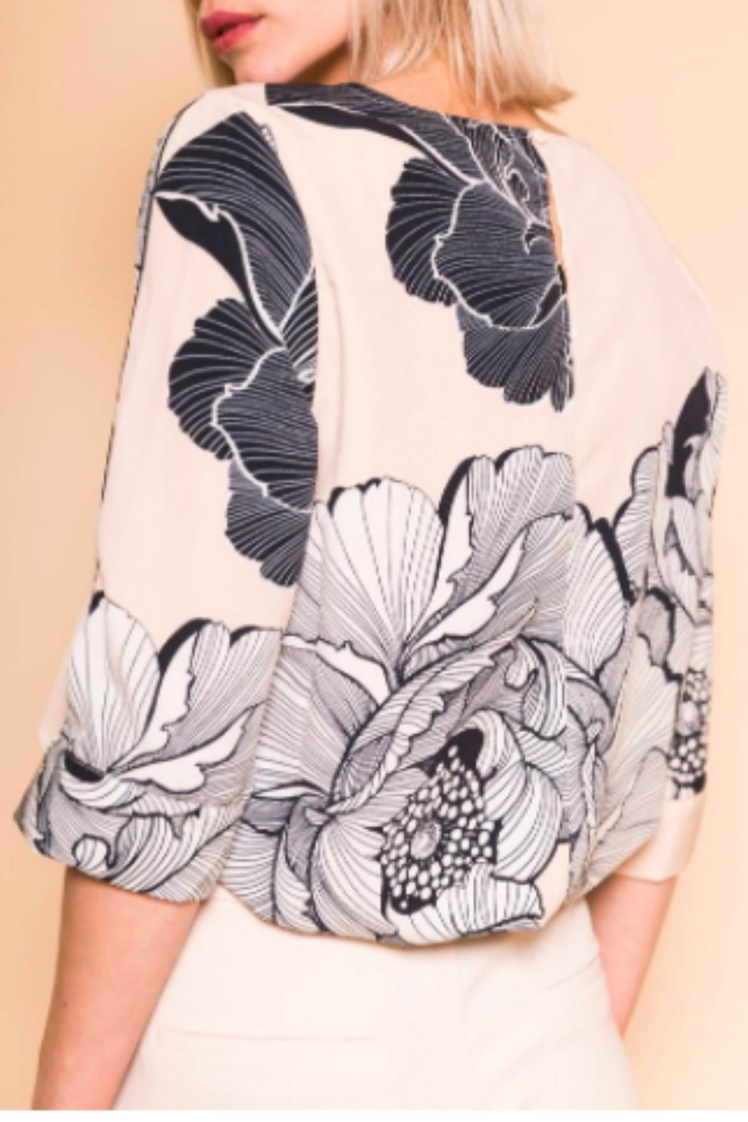 B.young Boxy Floral Blouse - Side Cropped Image