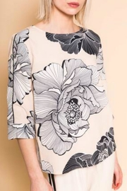B.young Boxy Floral Blouse - Front cropped