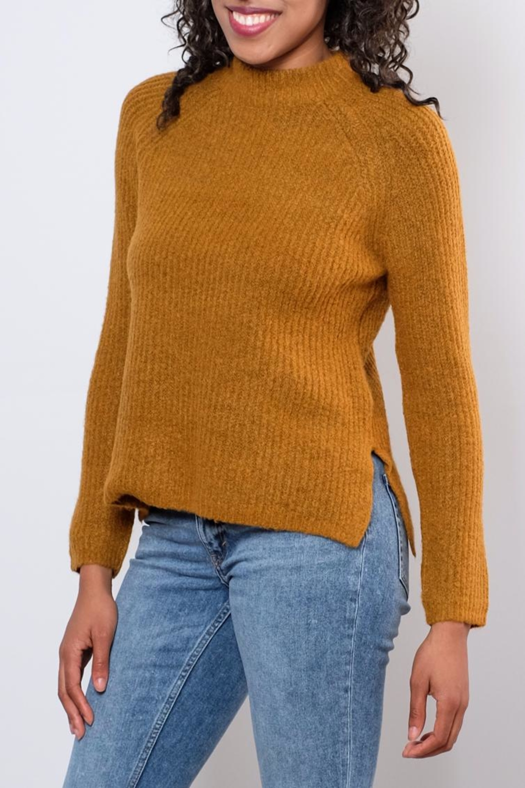 B.young Plush Sweater - Front Full Image