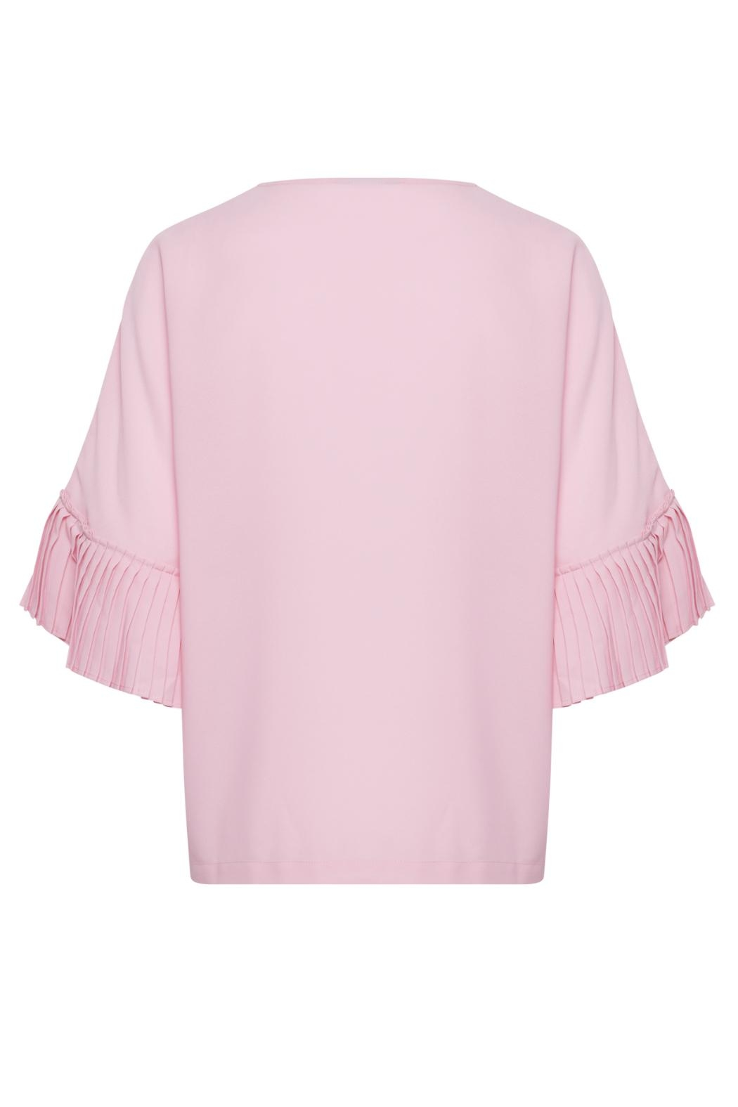 B.young Pretty Pink Blouse - Front Full Image