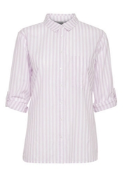 B.young Purple Stripe Shirt - Product Mini Image