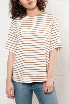 B.young Relaxed Striped Top - Product List Image
