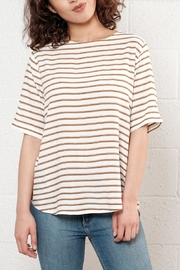 B.young Relaxed Striped Top - Product Mini Image