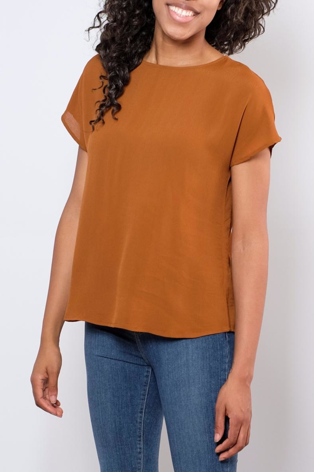B.young Strap Detail Blouse - Side Cropped Image