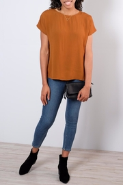 B.young Strap Detail Blouse - Front full body