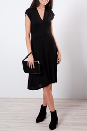 B.young V Neck Midi Dress - Front cropped