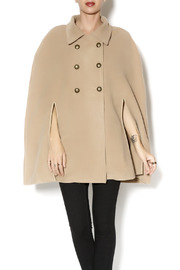 Charlie Paige Trench Coat Poncho - Front cropped