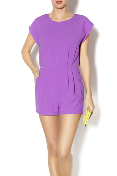 Byrds Purple Romper - Product List Image