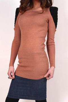 Private Label Ribbed Shoulder Sweater - Product List Image