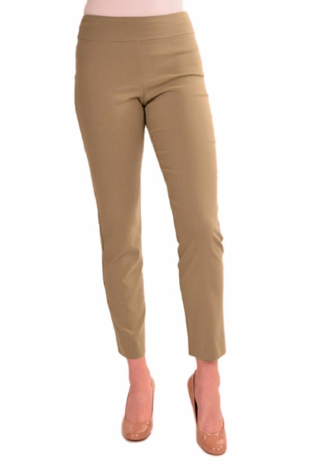 Krazy Larry Solid Pull-On Pant - Front Cropped Image