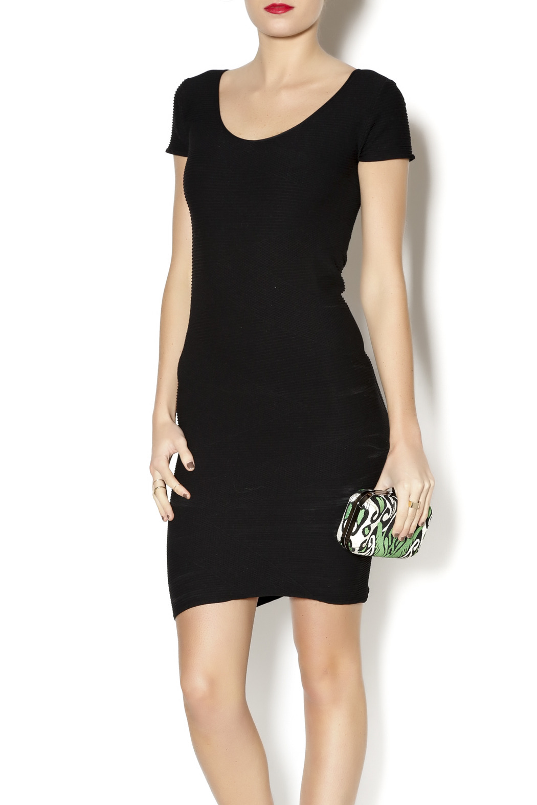 Tees by Tina Bandage Dress - Front Cropped Image
