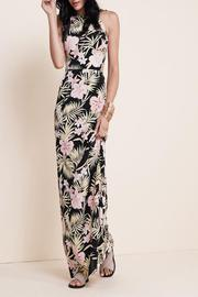 FOR LOVE & LEMONS Palms Maxi Dress - Side cropped