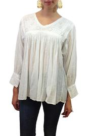 Nativa V Neck Blouse - Product Mini Image