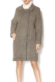 Willow & Clay Slouch Herringbone Coat - Product Mini Image
