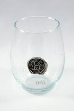 Shoptiques Product: Initial Wine Glass