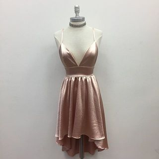 Shoptiques Satin Dress