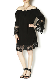 Two Chic Luxe Lace Detailed Dress - Front full body
