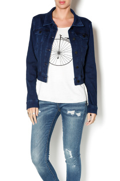 Liverpool Jean Company Cropped Denim Jacket - Product List Image