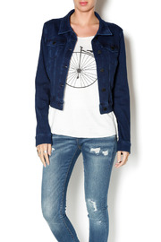 Liverpool Jean Company Cropped Denim Jacket - Product Mini Image