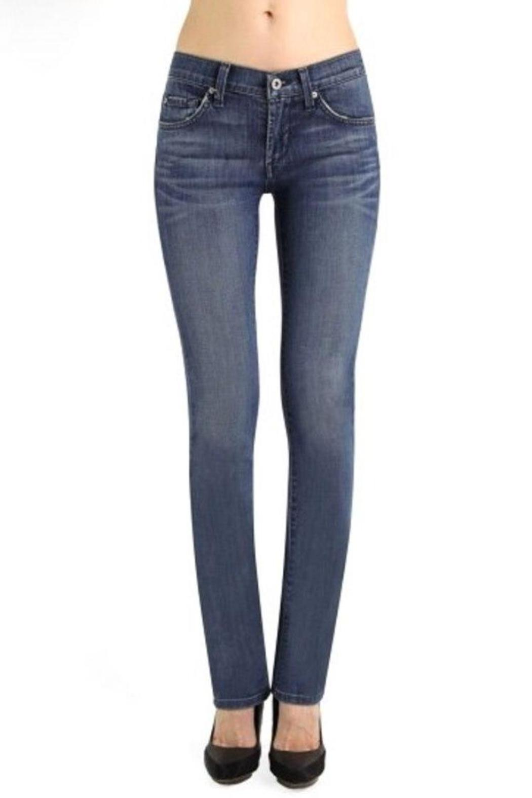James Jeans High Rise Straight - Main Image