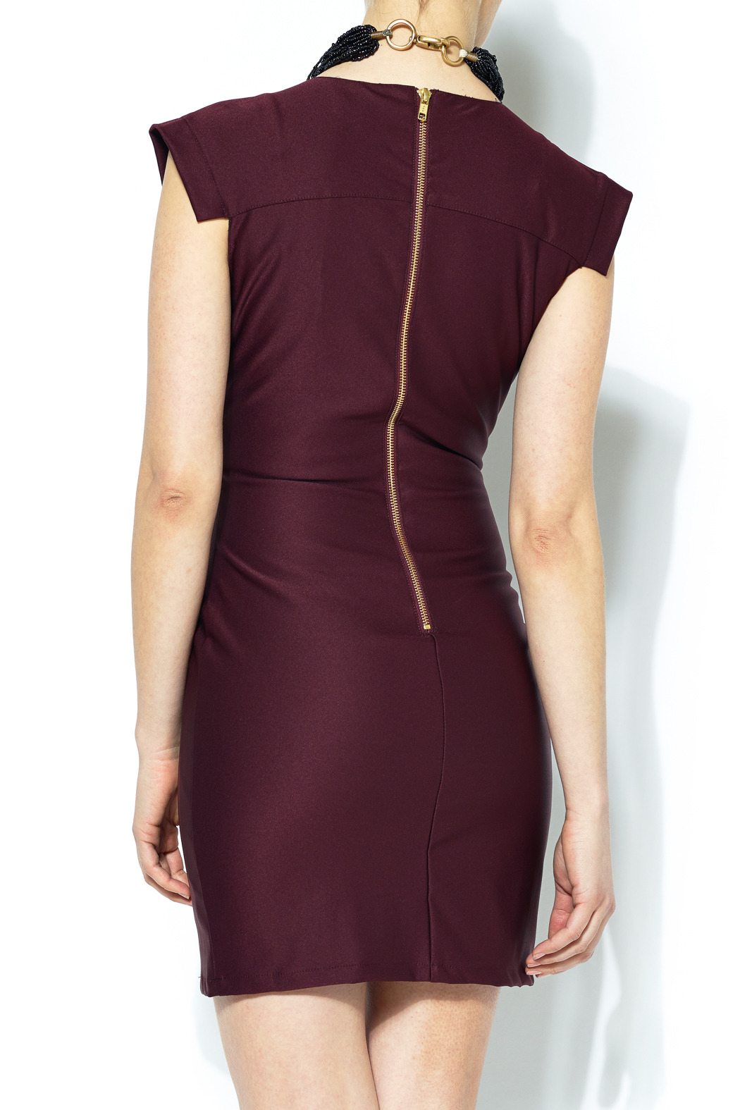 Mm Couture Exposed Zipper Dress From Bucktown By Beyond