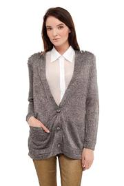 Shoptiques Product: Cardigan With Spikes