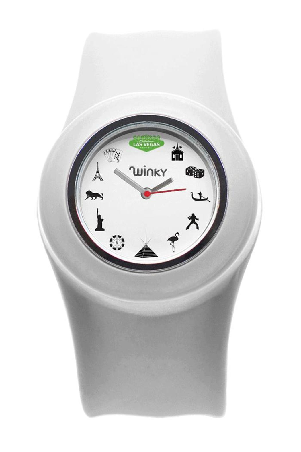Winky Designs Vegas Slap Watch - Front Cropped Image
