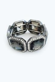 Bling Bling Sisters Smoky Grey Bracelet - Front cropped