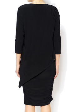 Shoptiques Product: Little Black Ruched Dress