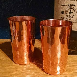 Shoptiques Product: Copper Tequila Shooter Set