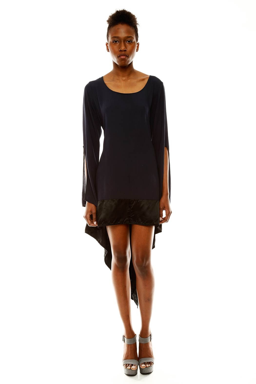 kailash Asymmetrical Tunic - Front Cropped Image