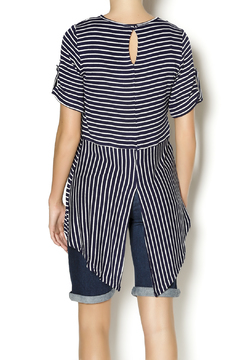 Mesmerize Striped High Low Top - Alternate List Image