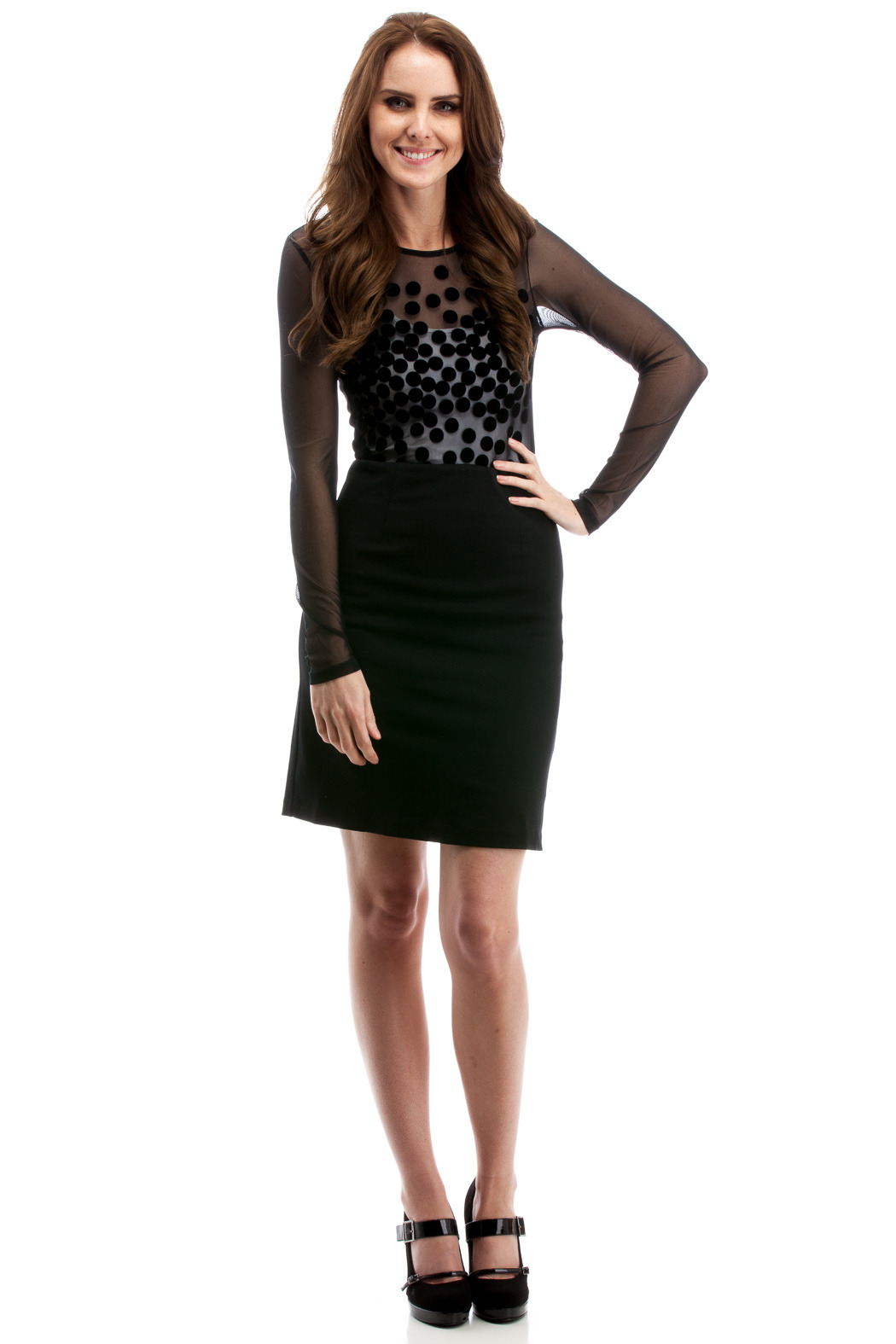 THML Clothing Cocktail Dress - Front Full Image