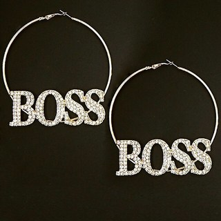 Shoptiques Boss Earrings