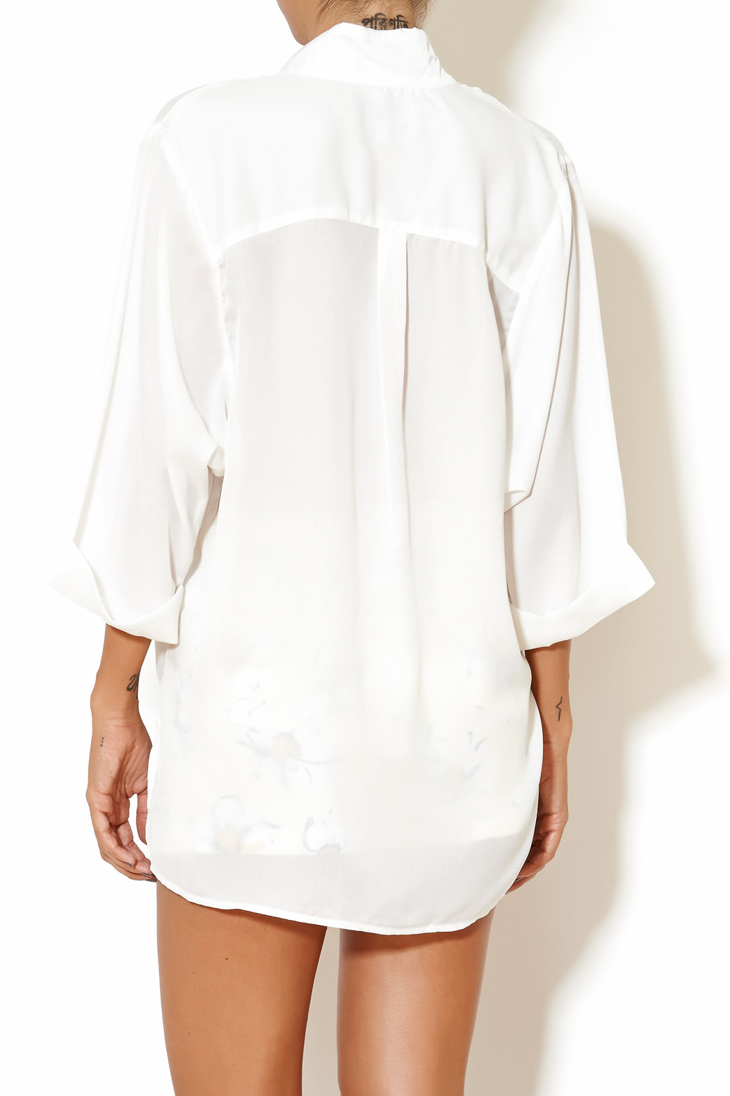 Madison Square Clothing Charlotte Blouse - Back Cropped Image