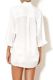 Madison Square Clothing Charlotte Blouse - Back cropped