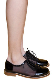 Shoptiques Product: Patent and Mesh Oxfords