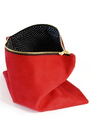 Victoria Khoss Foldover Clutch - Front full body