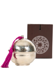 Whistle Petite Dome Candle - Front cropped