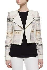 BCBG Max Azria Cody Embroidered Jacket - Front cropped