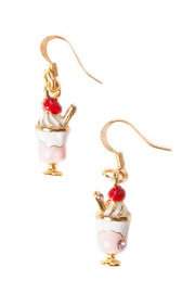 MissHoe Ice Cream Sundae Earrings - Front cropped
